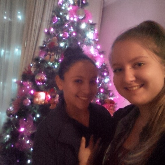 Meine Gastschwester und ich