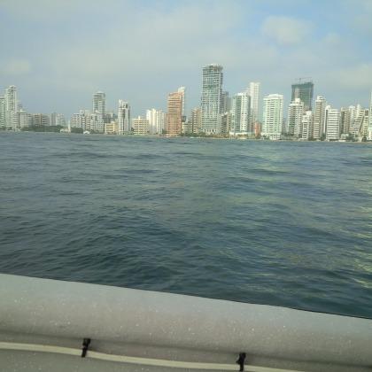 Bootsfahrt zum Playa Blanca