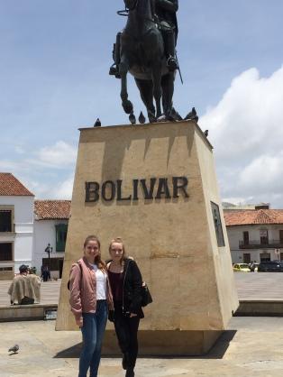 Plaza Bolivar mit Frieda