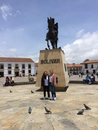 Plaza Bolivar mit Silvita