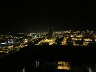 Tunja bei Nacht