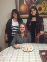 Tante und Cousine