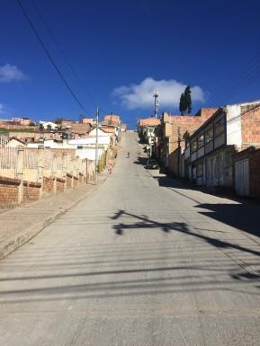 Steile Straßen