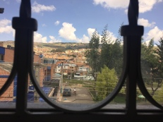 Blick aus meinem alten Fenster