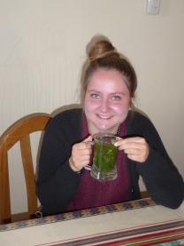Jule mit Coca-Tee