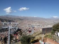Hochseilbahn über La Paz