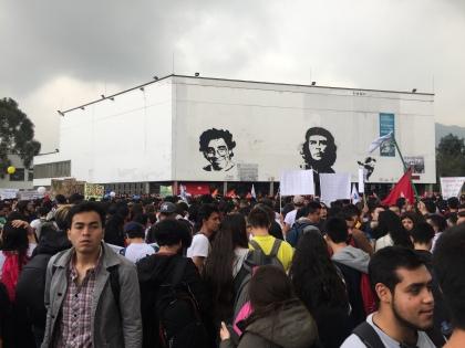 Start auf der Plaza Che