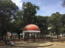 Park vor dem casa de las culturas