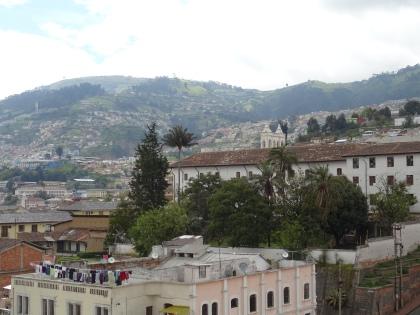 Ausblick auf Quito