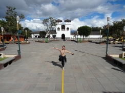 Mitten auf dem Äquator