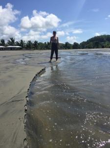 Am Strand von Mompiche