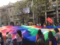 Die Flagge der inidigenen Gemeinschaften