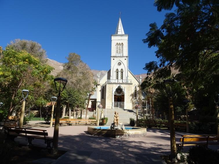 Hauptplatz Pisco Elqui