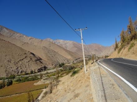 Blick auf die Route