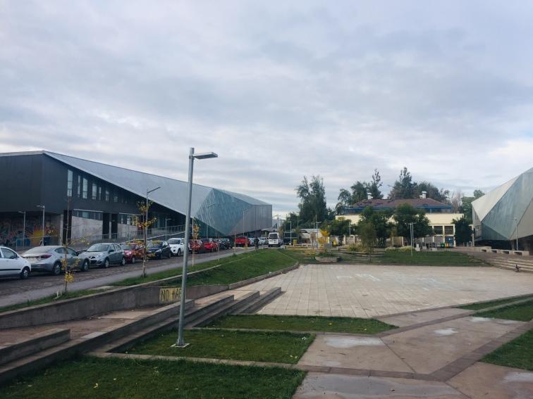 Hauptplatz der Uni
