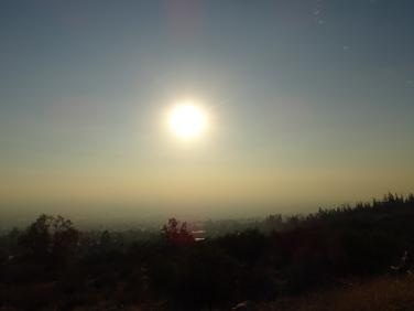 Ausblick auf Santiago